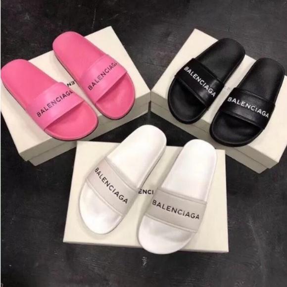 Designer Slides Summer Sandals | Poshmark